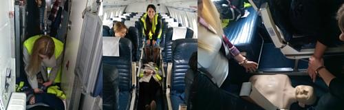 Szkolenia dla załóg lotniczych i personelu pokładowego